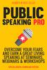Public speaking pro plr eBook