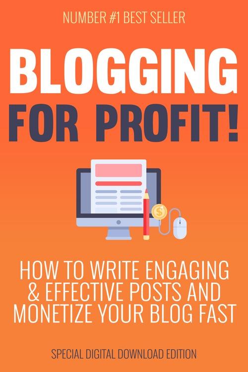 Product picture Blogging for Profit plr ebook-MRR