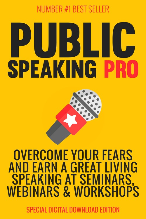 Product picture Public speaking pro plr eBook